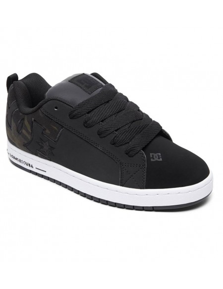 DC Shoes Court Graffik SE Black Camo