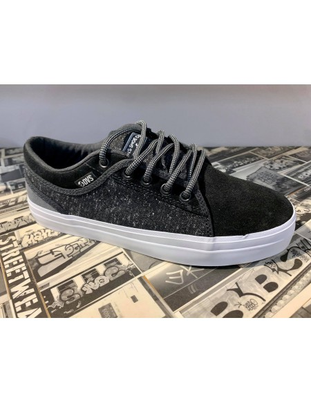 DVS Aversa+ Black Pewter Textile