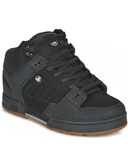 DVS Militia Boot black black nubuck mens