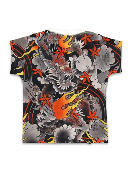 Six Bunnies Red Dragon T-Shirt