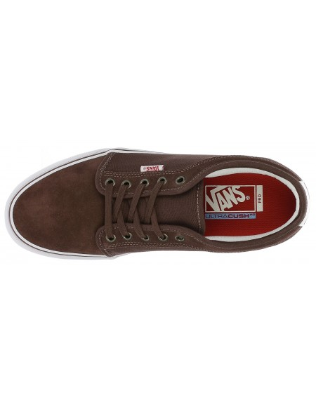 Vans Chukka Low French Roast-White-Red