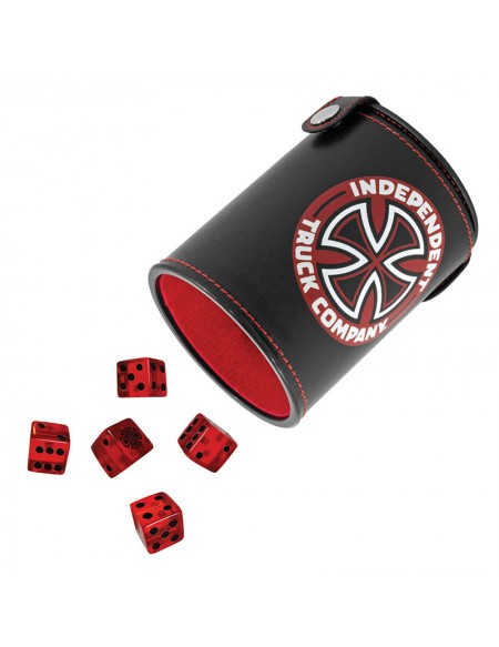 Independent Truck Company Shake 'Em Up Black Dice Set