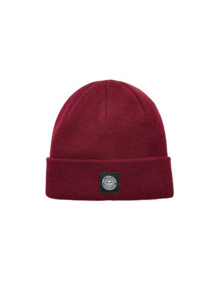 Obey Worldwide Seal Beanie Burgundy