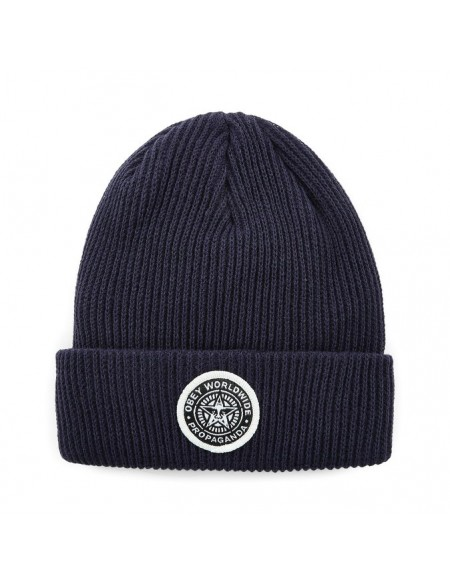 Obey Classic Patch Beanie Navy