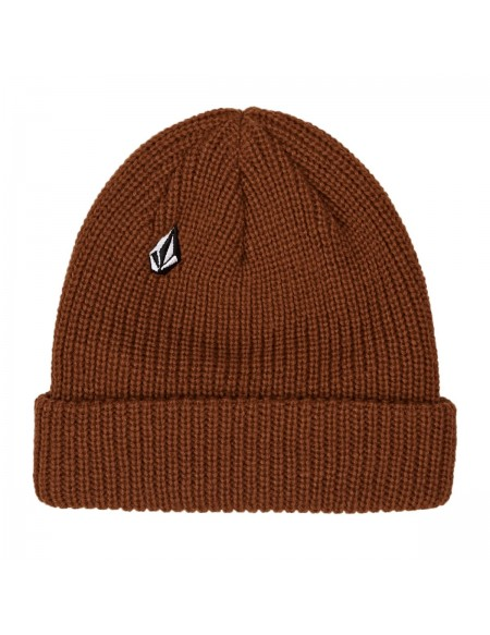 Volcom Men's Full Stone Beanie Copper